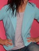 Niebieski blazer