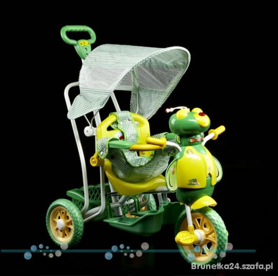 Zabawki Rowerek zielona pszczolka