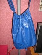 niebieska torebka worek cena z przesyłką