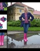 Kolorowa stylizacja na deszczowe dni