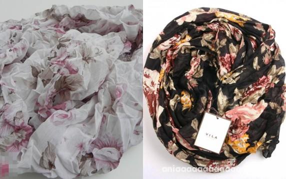 chusta szal floral