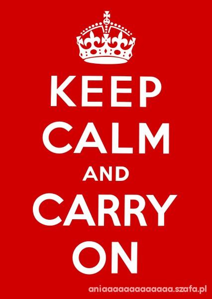 bluzka bluza keep calm and
