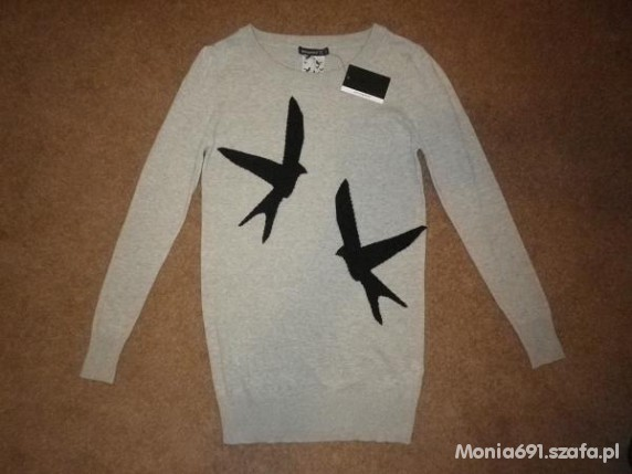 sweter ptaszki...