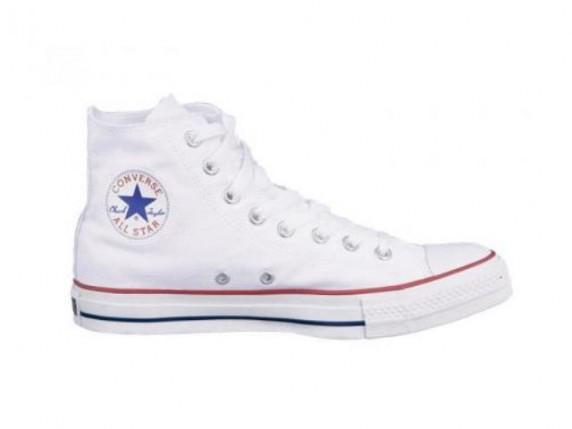 Converse białe...