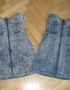 H&M sukienka zip marmurkowa wiosna lato 2010