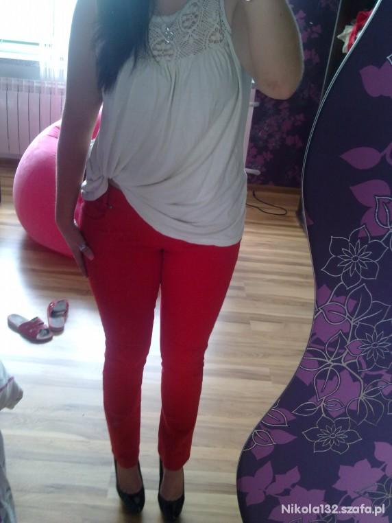 Mój styl Red pants