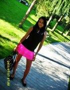 Mega różowa spódniczka...
