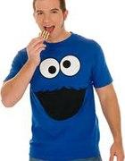 T shirt cookie monster...