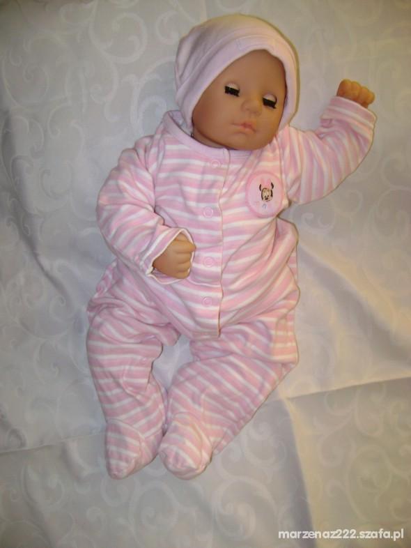 Komplety Disney komplet pajac i body 6 9 msc roz 74 cm
