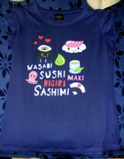 Sushi sashimi wasabi japan manga anime