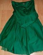 Niesamowita zielona sukienka Bershka...