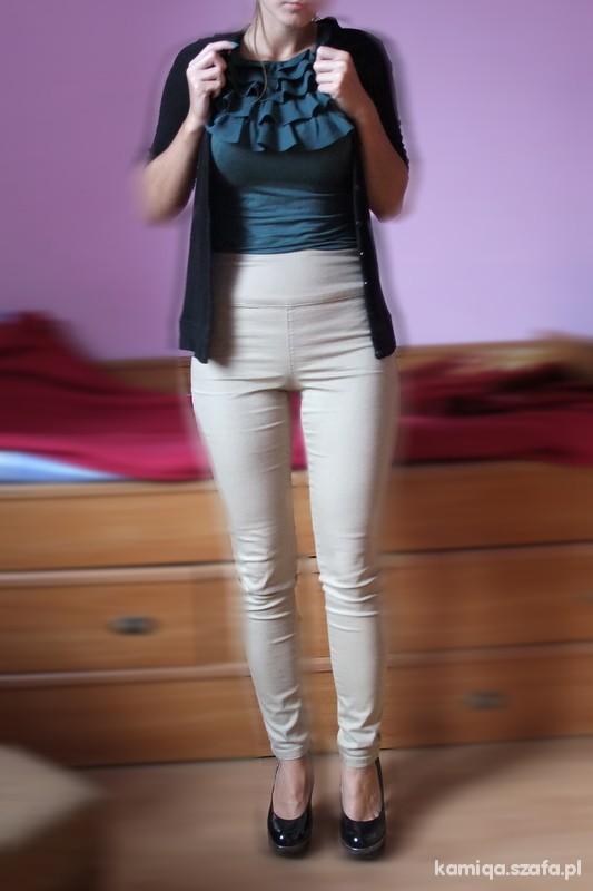 spodnie zip