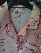 różowa satynowa piżama H&M Hello Kitty rozm XS