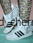 Jeremy Scott for Adidas oldschool originals wings