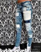 spodnie łaty h&m