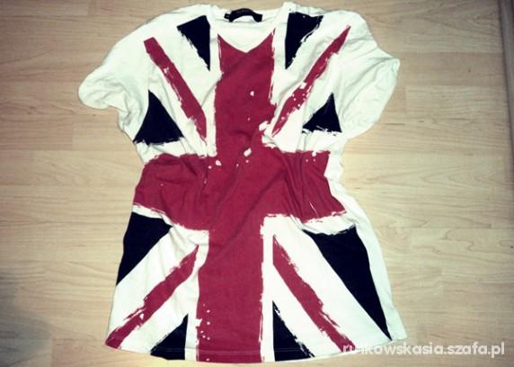 Ubrania flaga angli