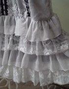 biała lolita z koronkami M