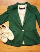 Zielony żakiet
