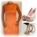 orange zara wesele