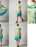 Sukienka floral SŁONECZNIKI...
