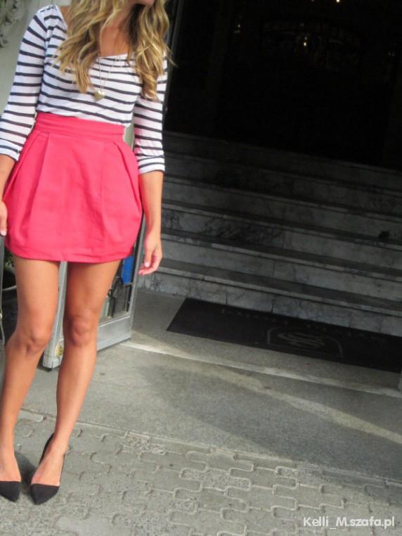Wasze inspiracje Pink skirt