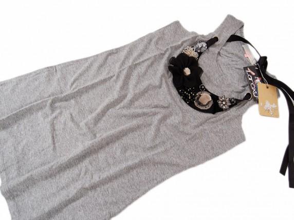 tunika z naszyjnikiem