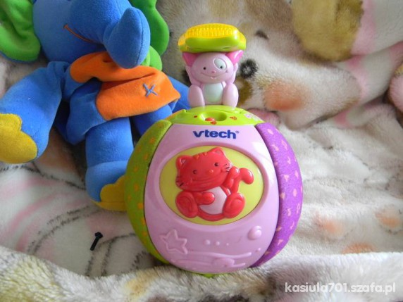 Zabawki VTECH różowa kula niespodzianka do raczkowania