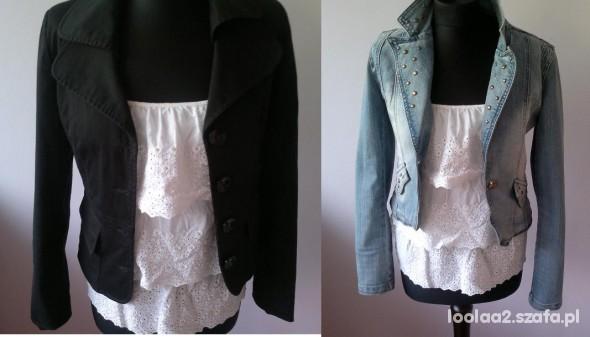 Mój styl Jedna bluzka dwa żakiety