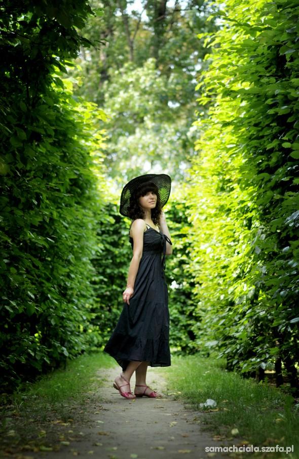 Mój styl Długa sukienka