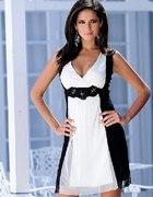 Sukienka czarno biała Bon Prix...