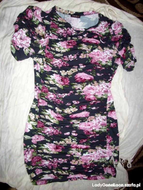Tunika w kwiaty M