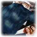 krótka kurteczka jeans bolerko