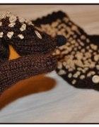 Rękawiczki jeżyki...