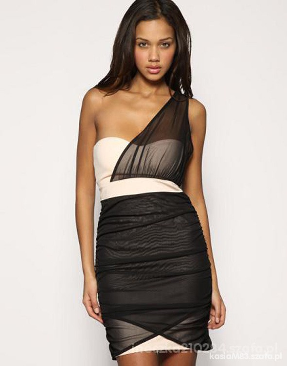 Asos Bodycon Bandage Dress Nude
