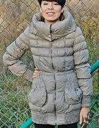 Płaszcz pikowany ZARA