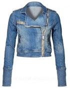 jeansowa ramoneska
