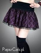 violet mini lace