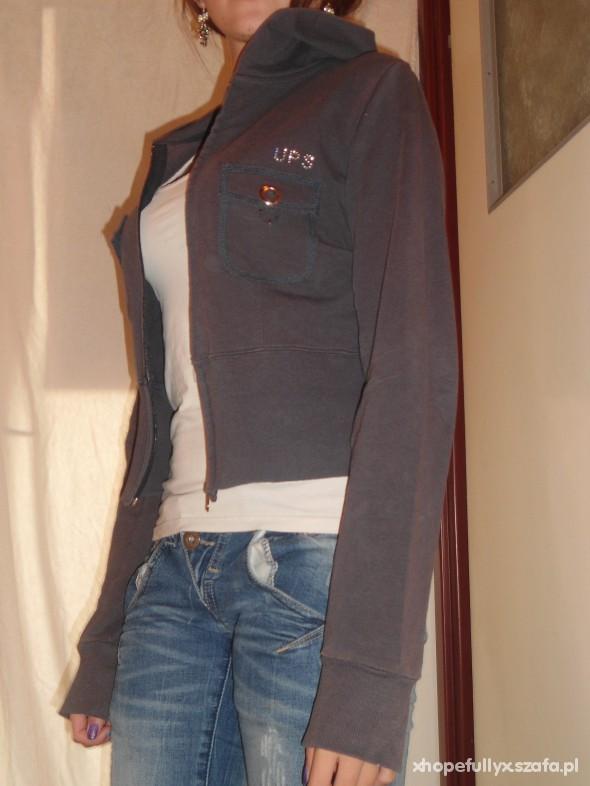 Bluzy granatowa bluza