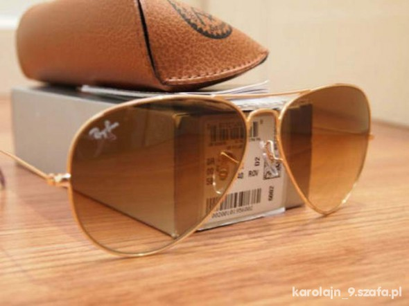 okulary ray ban aviator