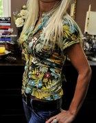 piękna koszula w cieplutkich barwach