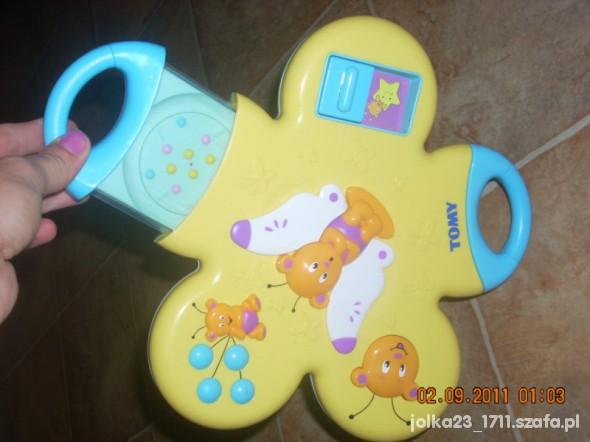 Zabawki grająca zabawka tomy z wysuwanymi elementami