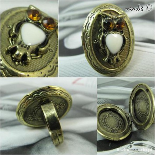 pierścionek zegarek i sekretnik