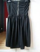 czarna sukienka ZIP by TALLY WEIJL
