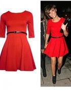 Red dress Zara