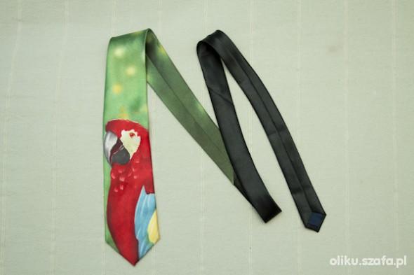 Pozostałe krawat papuga