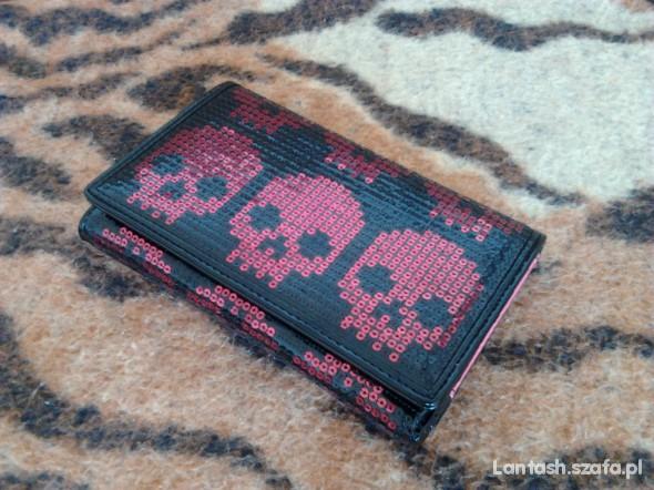 Portfele portfel czaszki IRON FIST