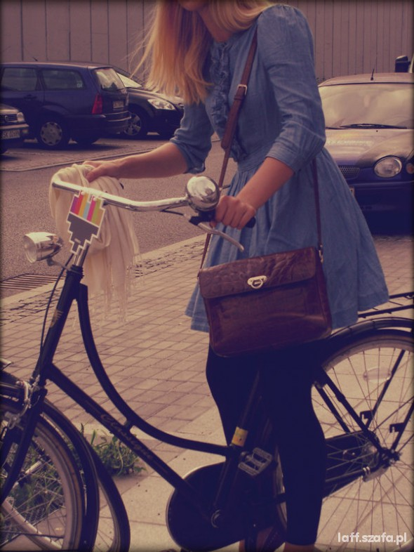 Mój styl I want to ride my bicycle I want to ride my bike