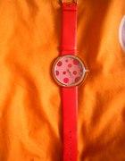 Czerwony zegarek...