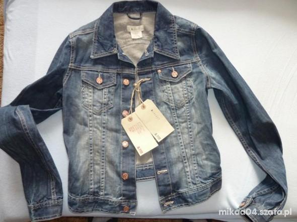 kurtka jeansowa HM 34 w Ubrania Szafa.pl