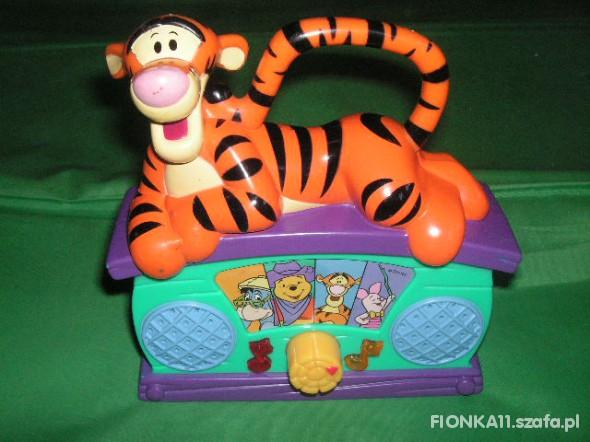 Zabawki RADIO DISNEY TYGRYSEK